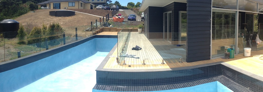 In Construction Concrete Pool Systems