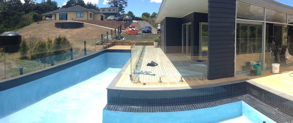 Concrete pool systems waitakere auckland new swimming for Pool design auckland