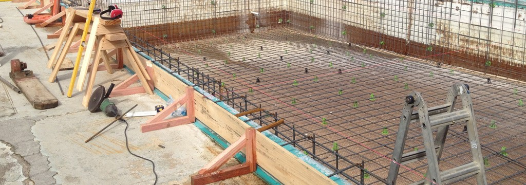 Concrete Pool Systems In Construction