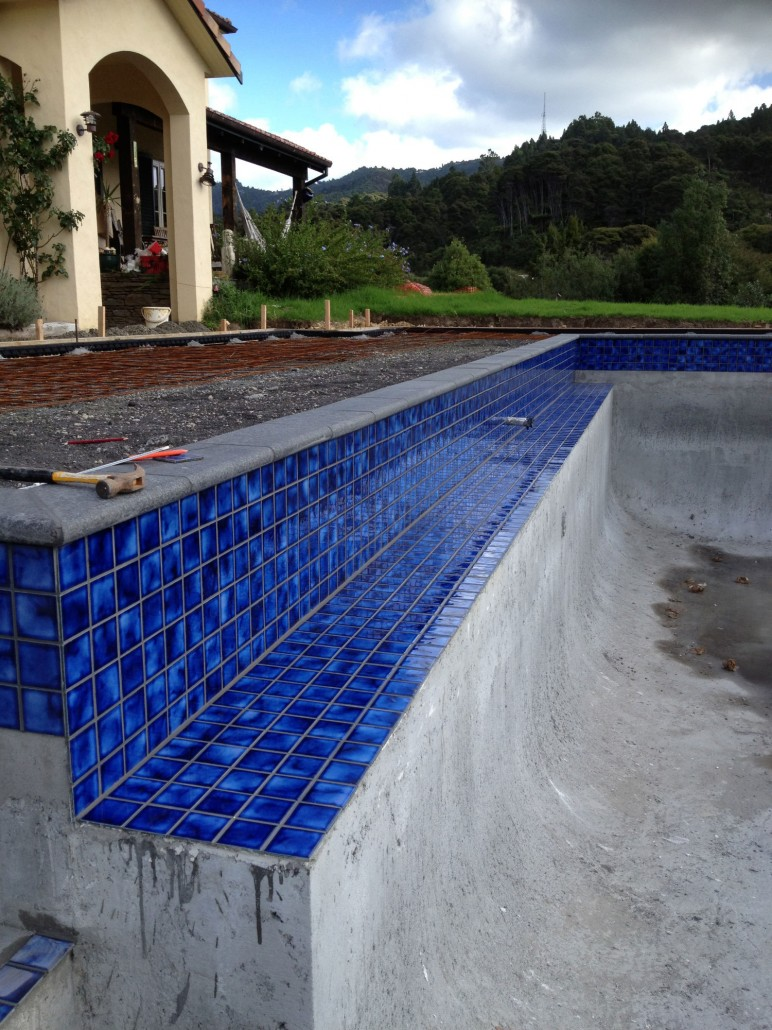 General construction concrete swimming pool photo gallery auckland north island concrete for Swimming pool construction company