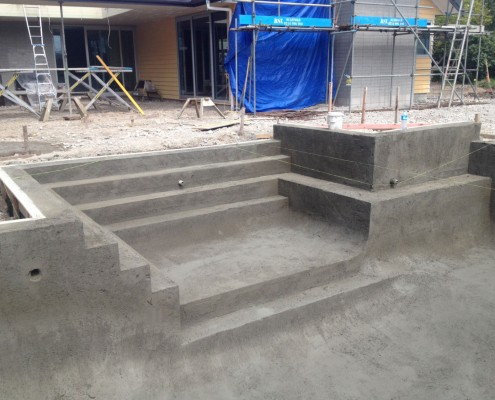 Concrete pool systems general construction concrete Concrete swimming pool construction