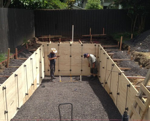 General construction concrete swimming pool photo - Swimming pool construction process ...
