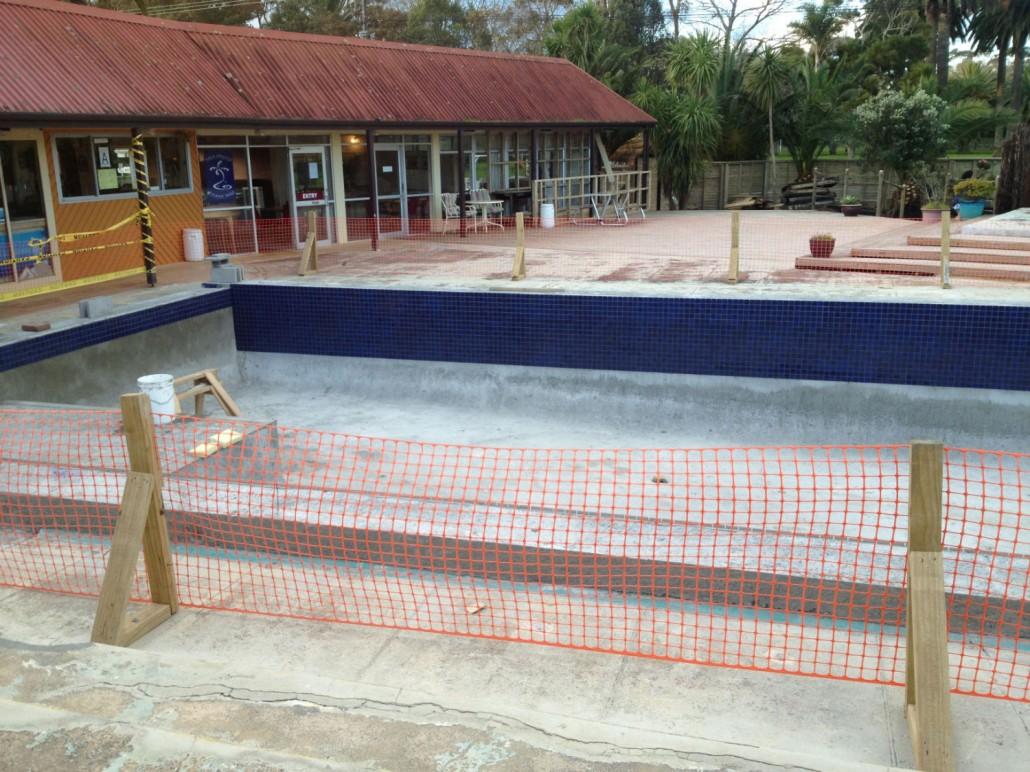 Parakai auckland swimming pool refurbishment for Pool design auckland