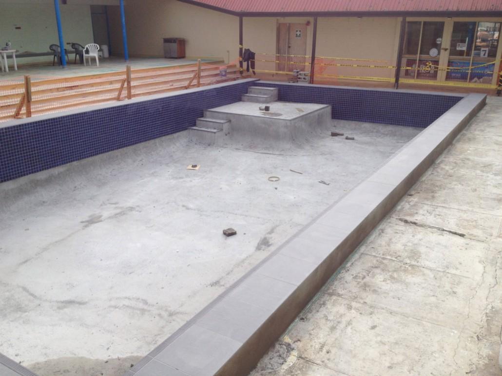 Parakai auckland swimming pool refurbishment restoration concrete pool systems - Pool restoration ...