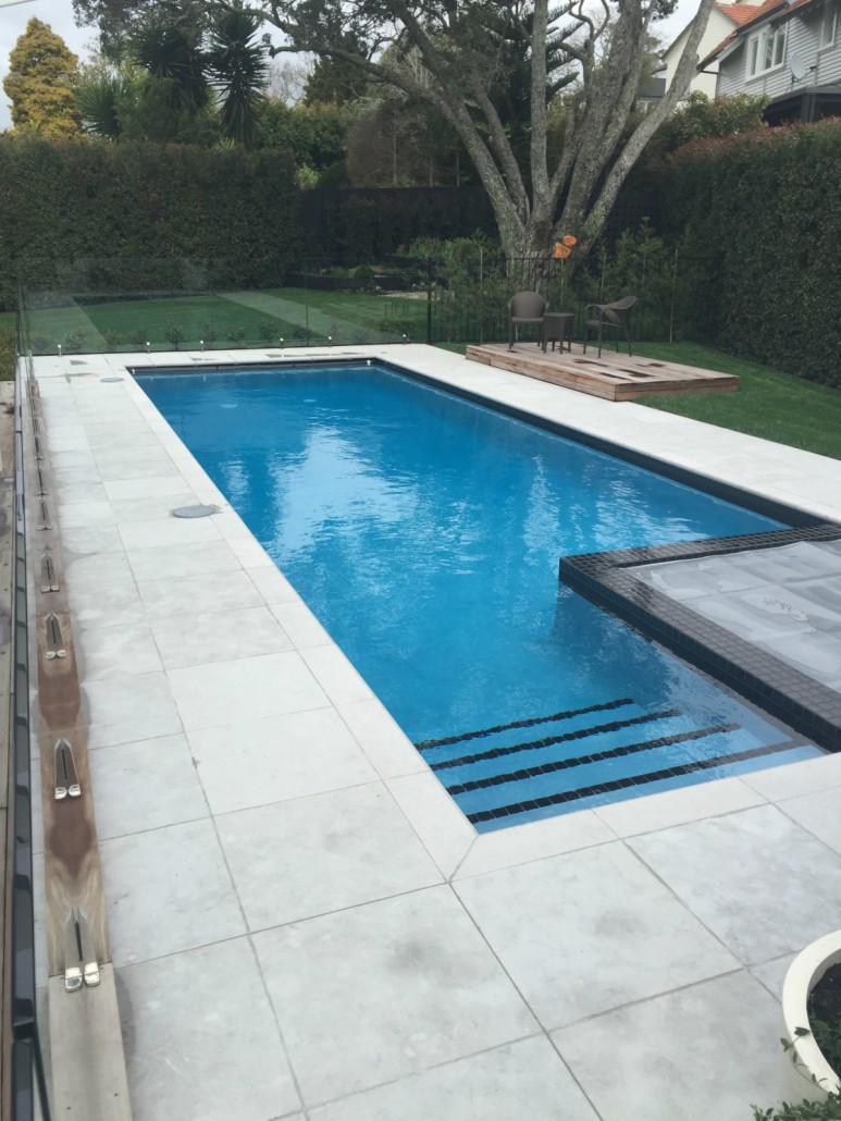 Remuera Pool Under Constuction Concrete Pool Systems