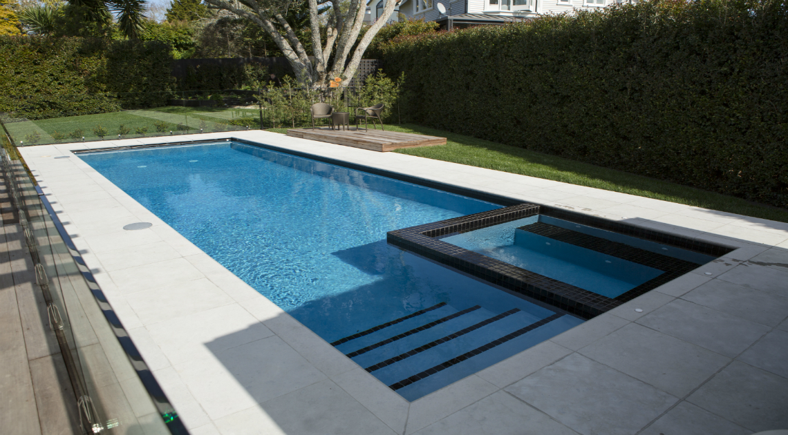 Concrete pool systems specialists in concrete swimming - Cinder block swimming pool construction ...