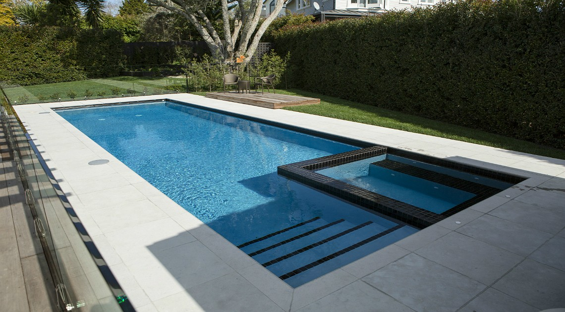 Remuera swimming pool concrete pool systems for Pool equipment design