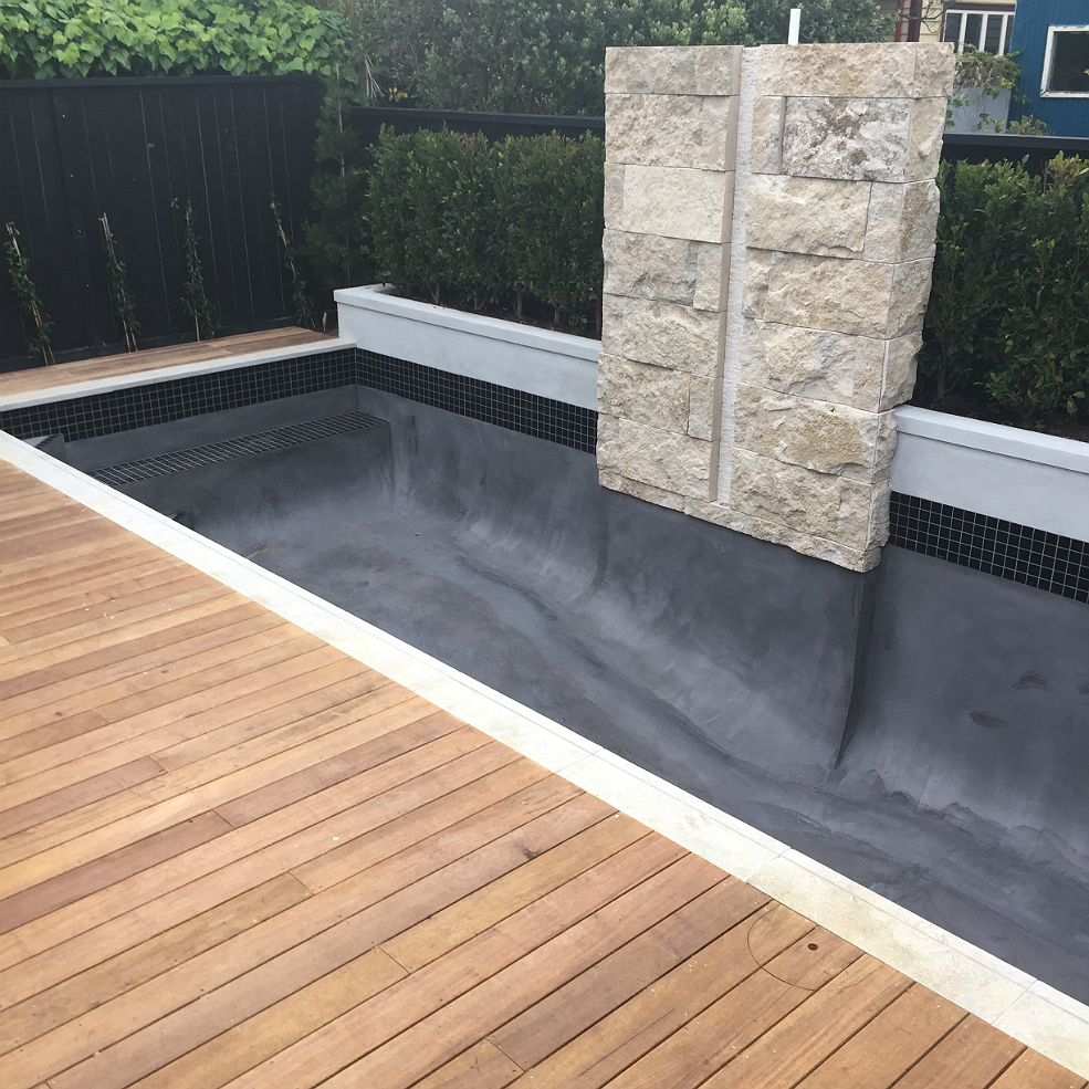 Building A Concrete Pool : Hydrazzo swimming pool build concrete systems